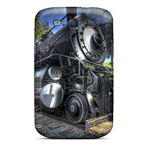 Shock-dirt Proof Steamtrain Case Cover For Galaxy S3