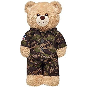 Amazon Army Green Wcap Outfit Teddy Bear Clothes Fits Most