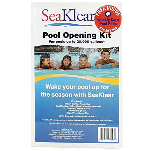SeaKlear 1115008 Swimming Pool Opening & Winterizing Kit - Up To 30,000 Gallons