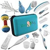 32 Pieces Baby Grooming Kit | 100% Safe Health Care Pack | Made from High-Grade Stainless Steel & BPA-Free Plastic | Nursery Essential Set for Babies | Unisex | Includes Infant Comb , Nail Clipper