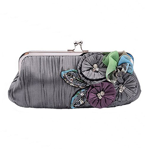spritechtm-womens-evening-elegant-flower-jeweled-rhinestone-pleated-cocktail-party-handbag-gray