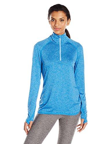 Spalding Women's Half Zip Pullover, Helix Combo, M - Half Zip Stretch Pullover