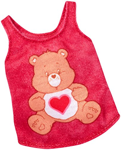 Barbie Super Pack - Barbie Care Bears Red Top Fashion Pack