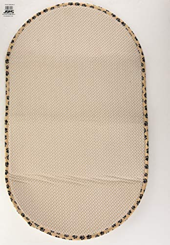 Envision Home 432000 Microfiber Pet Bowl/Food Mat, X-Large, Taupe Review