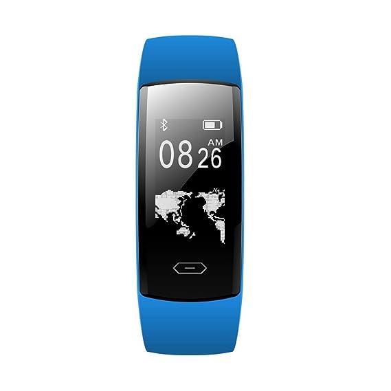 Amazon.com: Star_wuvi Smart Watch Heart Rate Blood Pressure Oxygen Fitness Tracker Bracelet BT4.0: Watches