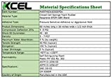 XCEL Extra Large Marine Roll, Closed Cell