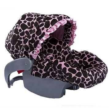 Baby Bella Maya Infant Car Seat Cover Ginny Giraffe