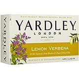 Yardley London Lemon Verbena Soap with Shea Butter & Citrus Oil 4.25 oz (Pack of 6)