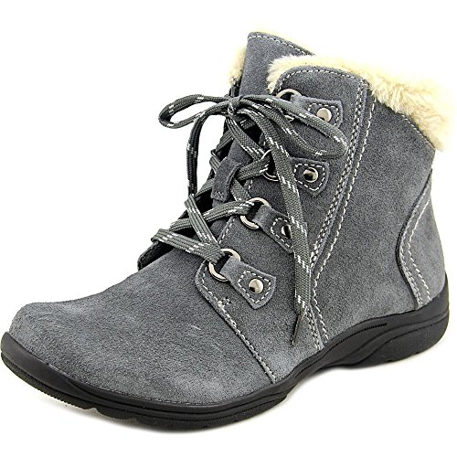 Earth Origins Crowley Damen US 8 Grau Breit Mode-Stiefeletten