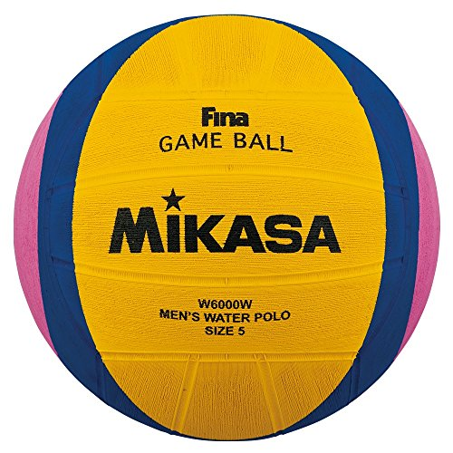 Water Polo Olympics - Mikasa 2012 London Olympic Water Polo Game Ball (Yellow/Blue/Pink, Size 5)