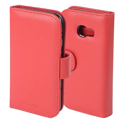 Cadorabo - Funda >                                                  Samsung Galaxy A3 (7) - Modelo 2017                                                  < Book Style de Cuero Sintético en Diseño Libro