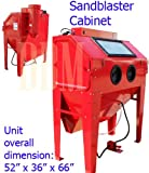 Heavy Duty Industrial Sand Blaster Blasting Cabinet Air Sandblaster Blast Gun