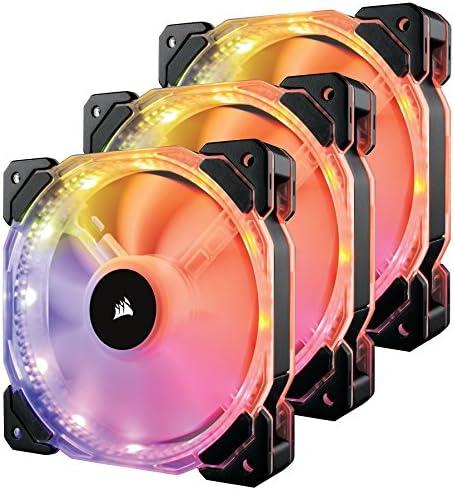 Corsair HD120 RGB - Ventilador de PC (120 mm, Iluminación a LED ...