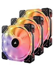 Corsair HD Series, HD120 RGB LED, 120mm High Performance RGB ...