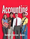 img - for Accounting 1-26 and Integrator CD (6th Edition) (Charles T Horngren Series in Accounting) (Ch. 1-26) book / textbook / text book