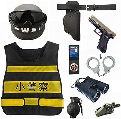 HJG - Juego de Accesorios para Disfraz de policía, Juego de rol ...
