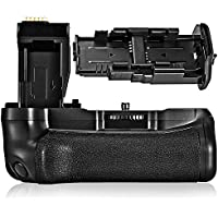 SAMTIAN Vertical Battery Grip Replacement Holder Pack for Canon 750D 760D T6i T6s X8i 8000D Digital SLR Camera Replacement for BG-E18 Work with 1 or 2 PCS LP-E17 Battery