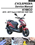 CPP-272 KYMCO Super 8 50 150 R X Cyclepedia Printed Scooter Service Manual