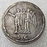 BoBoLing Best Ancient Roman Coin - Old Coin Collecting - Roman Empire Coins - Replica Ancient Roman Coinage - Old US Dollars Goods