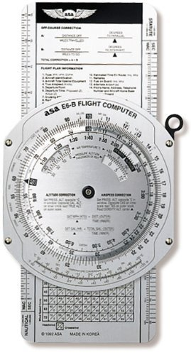 asa electronic flight computer - 7