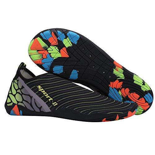 dd07de1254d71d best Men Women Water Shoes Barefoot Aqua Socks Quick-Dry Swim Shoes for  Beach Pool