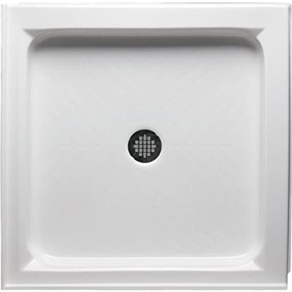 Double Threshold Square Shower Base Size: 38u0026quot ...