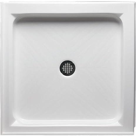 Double Threshold Square Shower Base Size: 38u0026quot ...