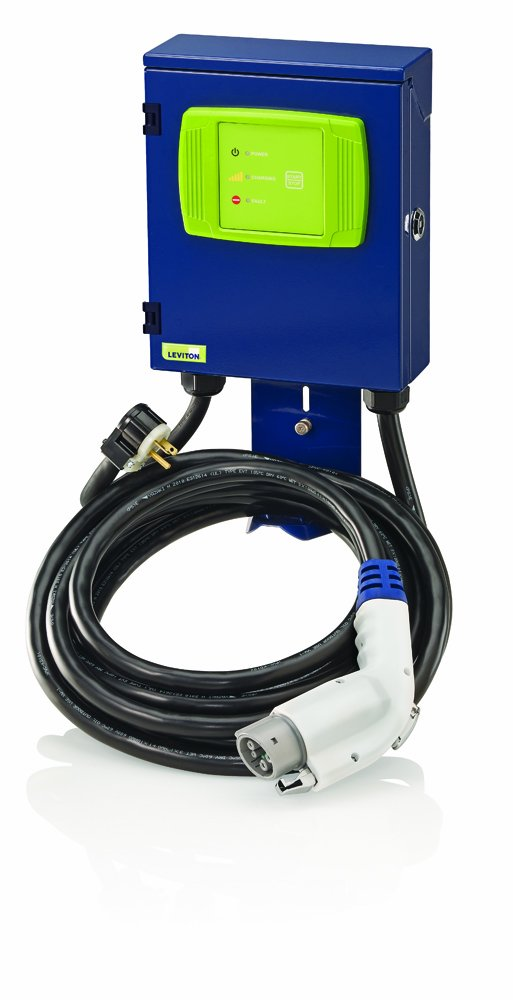 Leviton EVB22-3PM Evr-Green 160 Home Charging Station, 3.8kW output, Level 2 by Leviton