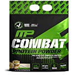 MusclePharm Combat Protein Powder - Essential blend of Whey, Isolate, Casein and Egg Protein with BCAA's and Glutamine for Recovery, Cookies 'N' Cream, 10 Pound