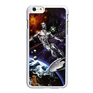 Marvel Silver Surfer W9G11E6HU funda iPhone 6 6S 4,7 pufunda LGadas caso funda 424R4J blanco
