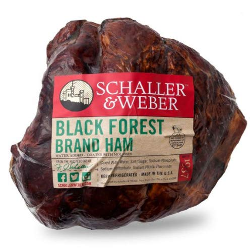 Black Forest Ham Natural Shape by Schaller & Weber (5 - Black Ham Forest