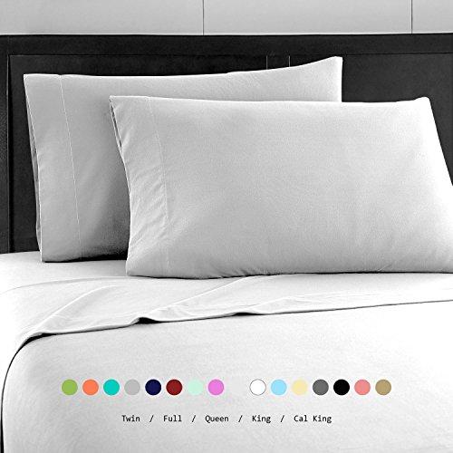 Prime Bedding Bed Sheets - 4 Piece Queen Sheets, Deep Pocket