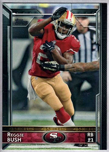 2015 Topps #69 Reggie Bush San Francisco 49ers NM-MT NFL