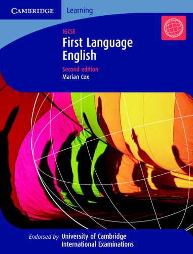 First Language English: IGCSE (Cambridge International IGCSE)