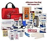 eXtreme K-9 Emergency Trauma / Injury Care Dog First Aid Kit - Multiple Kits (eXtreme Gun Dog Kit)