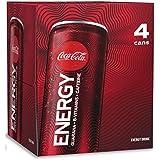 Coke Energy Original, 12 Fl Oz (Pack Of 4)