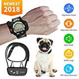 Training Dog Collar - Dog Training Collar, KKUP2U Rechargeable and Waterproof Beep/ Vibration/ Shock Electric Collar for All Size Dogs, 1000 Foot Range