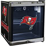 Glaros Officially Licensed NFL Beverage Center / Refrigerator - Tampa Bay Buccaneers