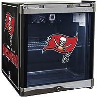 Glaros Officially Licensed NFL Beverage Center / Refrigerator - Tampa Bay Buccaneers