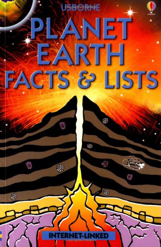 Planet Earth Facts and Lists (Usborne Facts & Lists) pdf