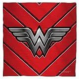 Justice League JLA Wonder Woman Emblem Bandana White 22X22 White 22X22