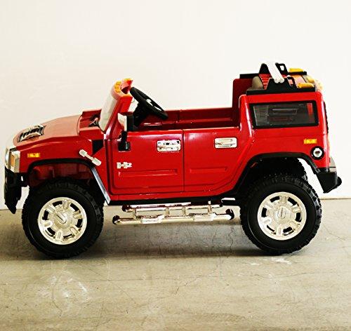 Best Ride On Cars Bentley Ra 12v: New Red Hummer H2 1206 Ride-on Car For Children 12V