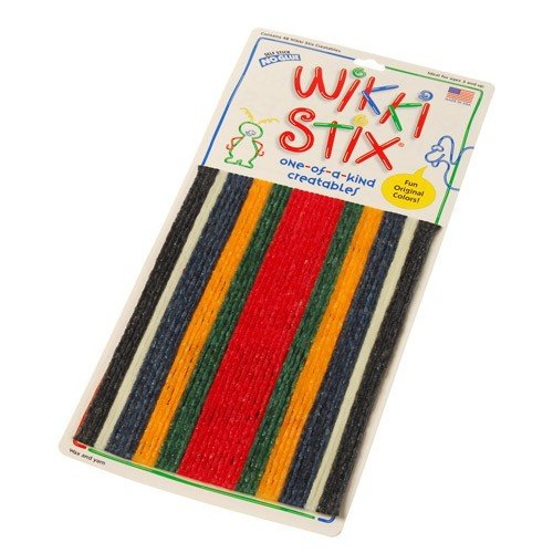 Wikki Stix 48 Bendable Sticks in 6 Colors ()
