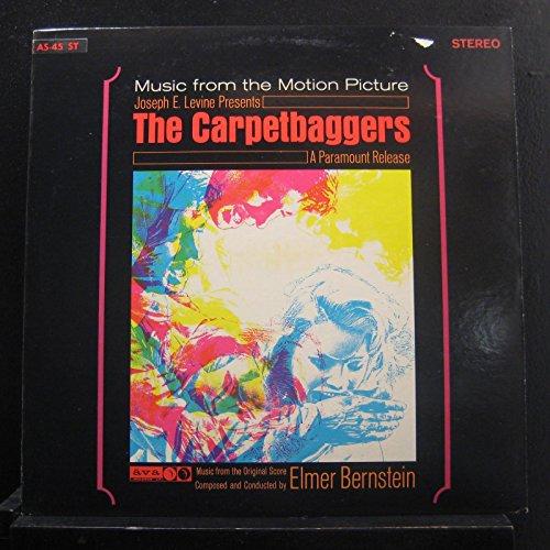 Elmer Bernstein - The Carpetbaggers (Original Motion Picture Score) - Lp Vinyl Record