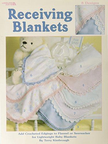 Receiving Blankets (Crocheted Blanket Edging)