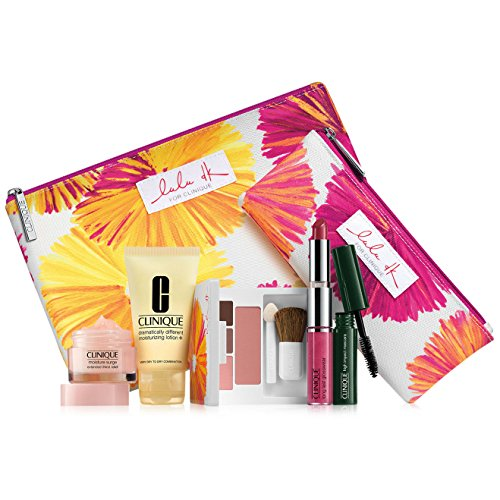 Clinique Spring 7 Pcs Skinecare Makeup Gift Set Macy's Exclusive Cosmetic Bag