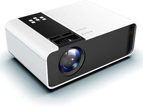 Vídeo Full HD Mini proyector, Mini proyector Nativo 1280 x 720P ...
