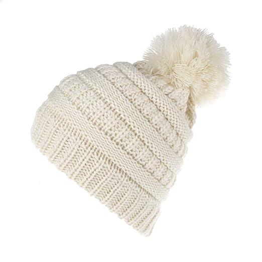b83586281ed81 Amazon.com  Kid Winter Beanie Knit-Hats - Skull Cap
