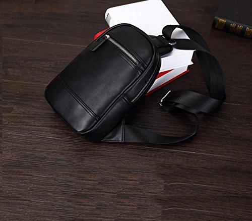 Herrenmode Messenger Bag Rucksack Freizeit Brusttaschen