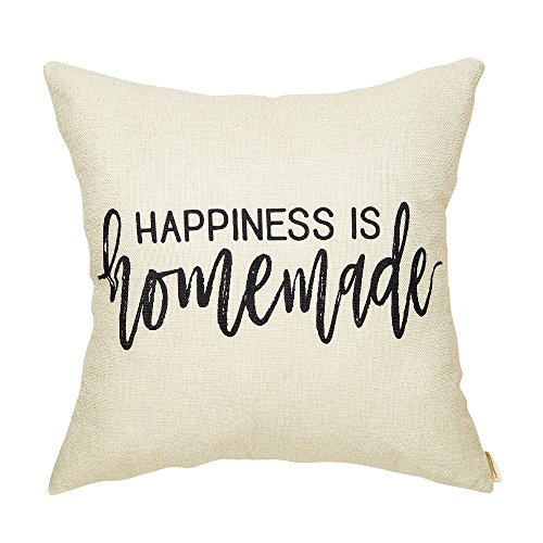 Fahrendom Rustic Happiness is Homemade Farmhouse Quote Shabby